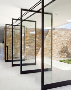 Exterior glass walls las vegas sliding doors installation for Exterior glass wall systems