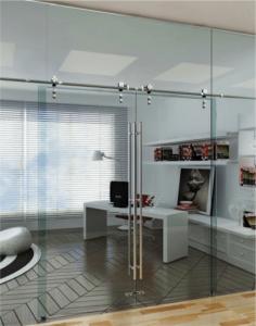 Full wall sliding glass doors las vegas folding pocket bi for Barn doors las vegas